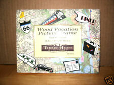 New NIB Retro Route 66 Diner Vacation Photo Frame 3.5x5 camper airstream