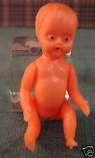 Miniature plastic standing baby 2 1/4''  tall set of 2