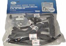 Gates Radiator Hose Pack 14 - Mitsubishi Pajero 91-95 NH NJ 3.0L V6