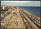 Cartolina - IGEA MARINA ( Rimini ) - Viale Pinzon e spiaggia - Viaggiata 1962