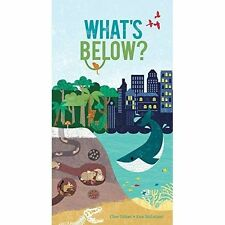 WHAT'S BELOW? by CLIVE GIFFORD AND KATE MCLELLAND / A POP UP RED SHED BOOK