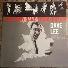 DAVE LEE A Big New Band from Britain Vinyl Record LP Top Rank Records RS-636