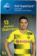 Aral supercard * RAPHAEL GUERREIRO * Borussia Dortmund * 2017/18 * Sans avoirs *