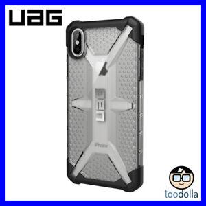 UAG Urban Armor Gear - Plasma - rugged tough case, iPhone XS Max, Clear/Black