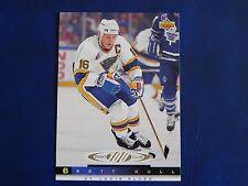 1993-94 Upper Deck UD Series 1 #232 Brett Hull St. Louis Blues 100 Point Club