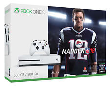 Microsoft Zq9-00317 Madden Nfl 18 500 Gb Bundle, White (Xbox One S)