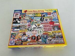 White Mountain Puzzle - I Love New Jersey ~ #1535 - 1000 pieces