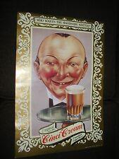 1 Cinci Cream Canadian Lager, Handsome Waiter Vintage Beer Advertising poster