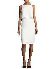 Rag & Bone Eliza Side-Slit Tank White Sz XS Dress New $495