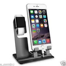 Aluminum Charging Dock Station Charger Holder Stand For Apple Watch iPhone 6 / 7