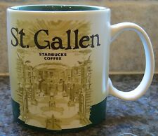 NWT Starbucks ST. GALLEN Switzerland Global Icon City Collector Mug with SKU