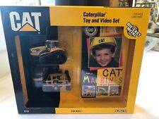Caterpillar 1/64 Toy And Video Set