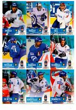 TAIGA  IIHF World Championship 2008 Team Italy (Full Set 16 cards)