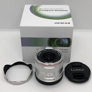 Laowa 7.5mm f/2 Ultra Wide Lens - Lightweight Version for Drones, Gimbals, MFT