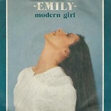 "EMILY "" MODERN GIRL / MORNING LIGHT ""   7"" ITALY PRESS"