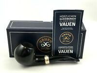 VAUEN Deluxe 42 Pfeife - 9mm Filter pipe pipa Premium Weißpunkt LIPPENBISS