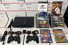 HUGE Sony PlayStation 2 PS2 Fat Console Bundle W/ 20 Games !!! - 100 % WARRANTY