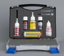 Schwanheimer Industriekleber - Komplettlösung als Set - Koffer mit Klebstoffen