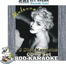 SBI Karaoke 86 Song Madonna 8 Disc CD+G Set SBILP346/53 BEST & RARE more cdg