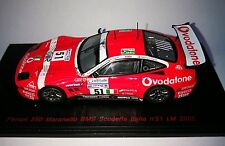 FERRARI 550 MARANELLO BMS Scuderia Italia #51 LE MANS 2005 RED LINE 1/43