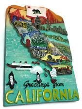 Hollywood California SOUVENIR RESIN 3D FRIDGE MAGNET SOUVENIR TOURIST GIFT 101
