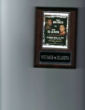 PERNELL WHITAKER vs OSCAR DELAHOYA POSTER PLAQUE BOXING PHOTO PLAQUE CHAMPION