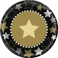 Hollywood Themed Party Dessert Cake Plates 8 Per Package Party Supplies