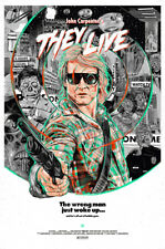 Posters USA - They Live John Carpenter Movie Poster Glossy Finish - MCP687