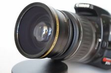 Wide Angle Macro Lens for Canon Eos Digital Rebel & t7/6/5/4/3/i w/18-55 EFS II
