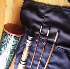 Superb 7.6ft 3pcs 2tips Deluxe Bamboo Fly Rod #4