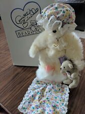 """Annette Funicello Bear Collection """"Dream Keeper"""" New With Box on Stand"""