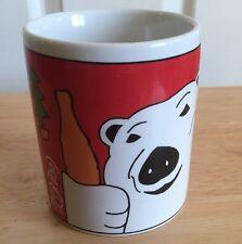 Coca Cola Polar Bear Coffee Mug 2001 Winter Holidays Coke Collectible Original