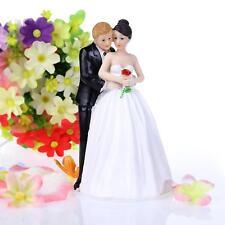 Cute Romantic Funny Wedding Cake Topper Figure Bride & Groom Couple Bridal Decor