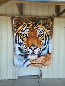 TIGER TWIN SIZE BLANKET