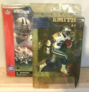 Emmitt Smith Dallas Cowboys NFL McFarlane's Sports Picks Action Figure HOF - NEW