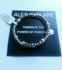 ALEX and ANI Winding Road Bangle Bracelet NWT BOX Russian Silver Wrap