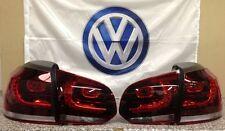 """Original VW LED Rückleuchten Golf VI GTI / R-Design """"Kirschrot Abgedunkelt"""""""
