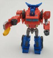Transformers Bumblebee Cyberverse Adventures Optimus Prime Mega Axe Attack Loose