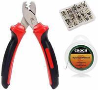 Hand Crimper Tools for Crimping Fishing Leader, Shark Fishing Rigs