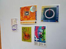 timbres France 3257 3258 3259 3260 3261  année 1999 cote 10,2€ VF 3,07€