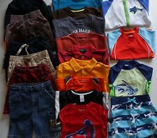 Boys Size 4 Summer Clothes Lot of 20 Items L5-19