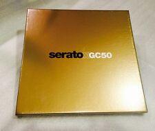 "Serato Performance Vinyl 12"" GC 50  Anniversary Gold Limited Edition Box Set FX"