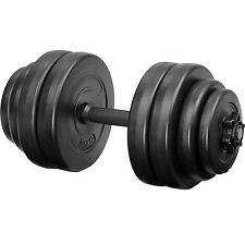 15 kg Mancuerna con Pesas Halteras de Fitnes Musculación Gimnasio