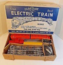 Vintage Happi Time 5-Unit Diesel Electric Train - WORKS - No 09362 -Original Box