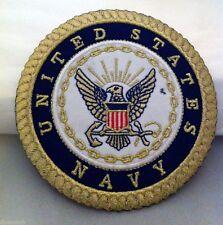 "U.S. Navy Patch, 4 1/2"" Diameter  Free Shipping!!"
