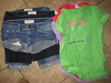 Girl's lot (8) ABERCROMBIE/Limited Too Shorts/Shirts...size 14/Large