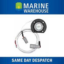 Bung Light LED White  W/ Base Mount - Marine Tinned Wire Fully Sealed Unit 5000