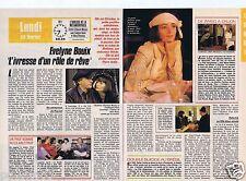 Coupure de presse Clipping 1989 Evelyne Bouix  (2 pages)