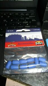 BACHMANN SCENECRAFT 44-526 INDUSTRIAL CHEMICAL DRUMS x10 PER PACK