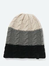 Bench AFFIRMATION Black Reversible Beanie  BMWF0033BK014
